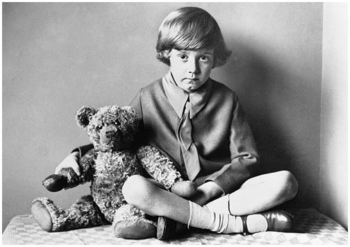 Christopher Robin Milne & Winnie-the-Pooh  (1926)